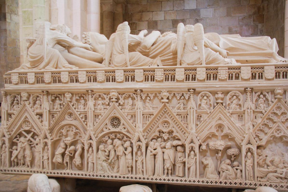Tombeau d'Inés de Castro - Monastère d'Alcobaça