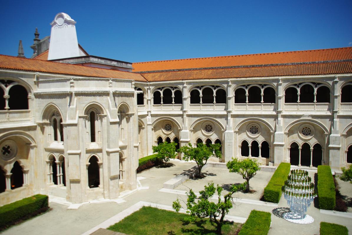 Cloître du monastère d'Alcobaça