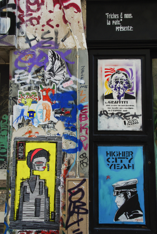 atelier d'artistes - Rue Denoyez - Paris