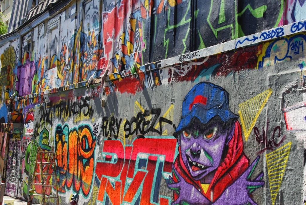 Rue Denoyez - Paris