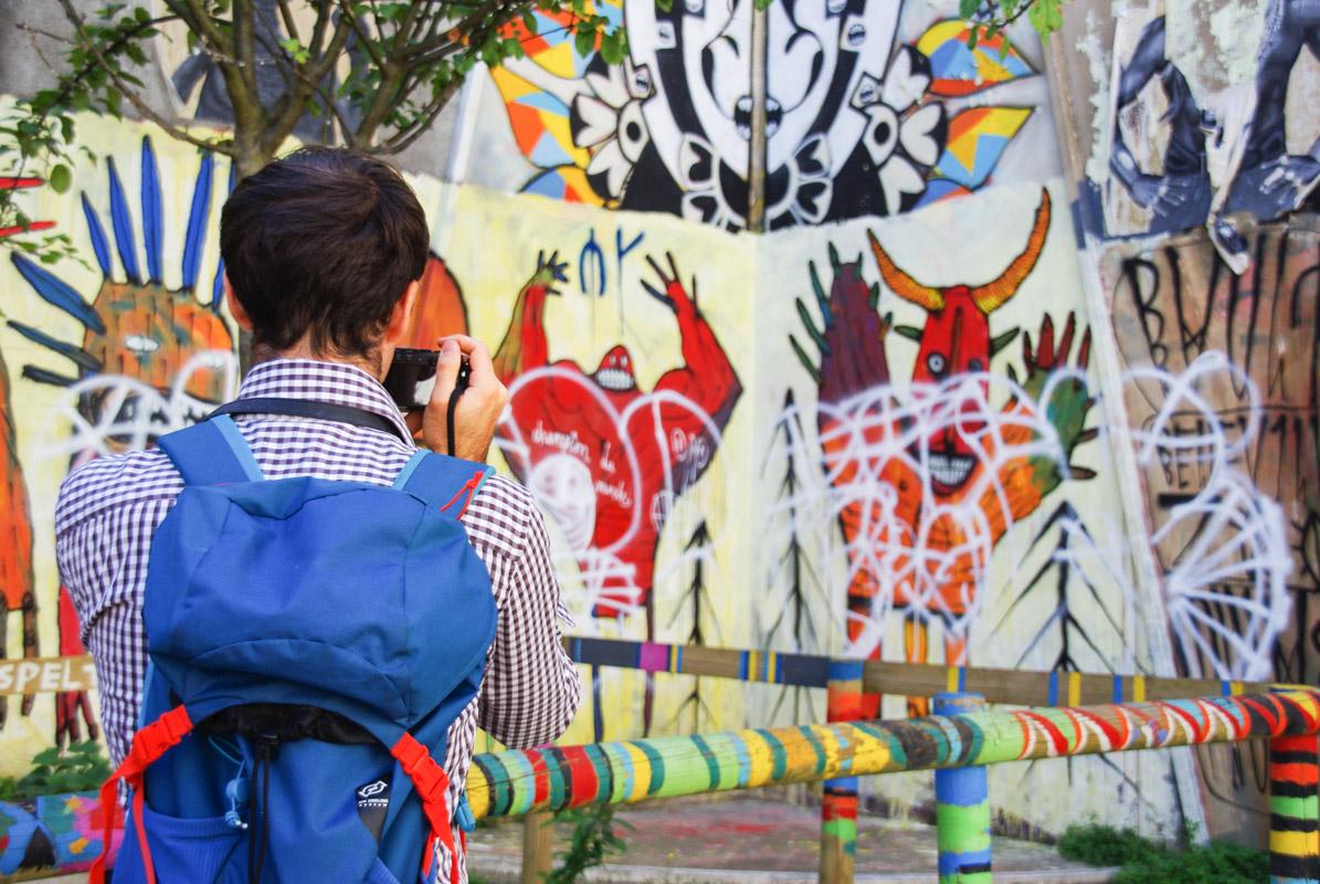 Balade Street Art à Belleville