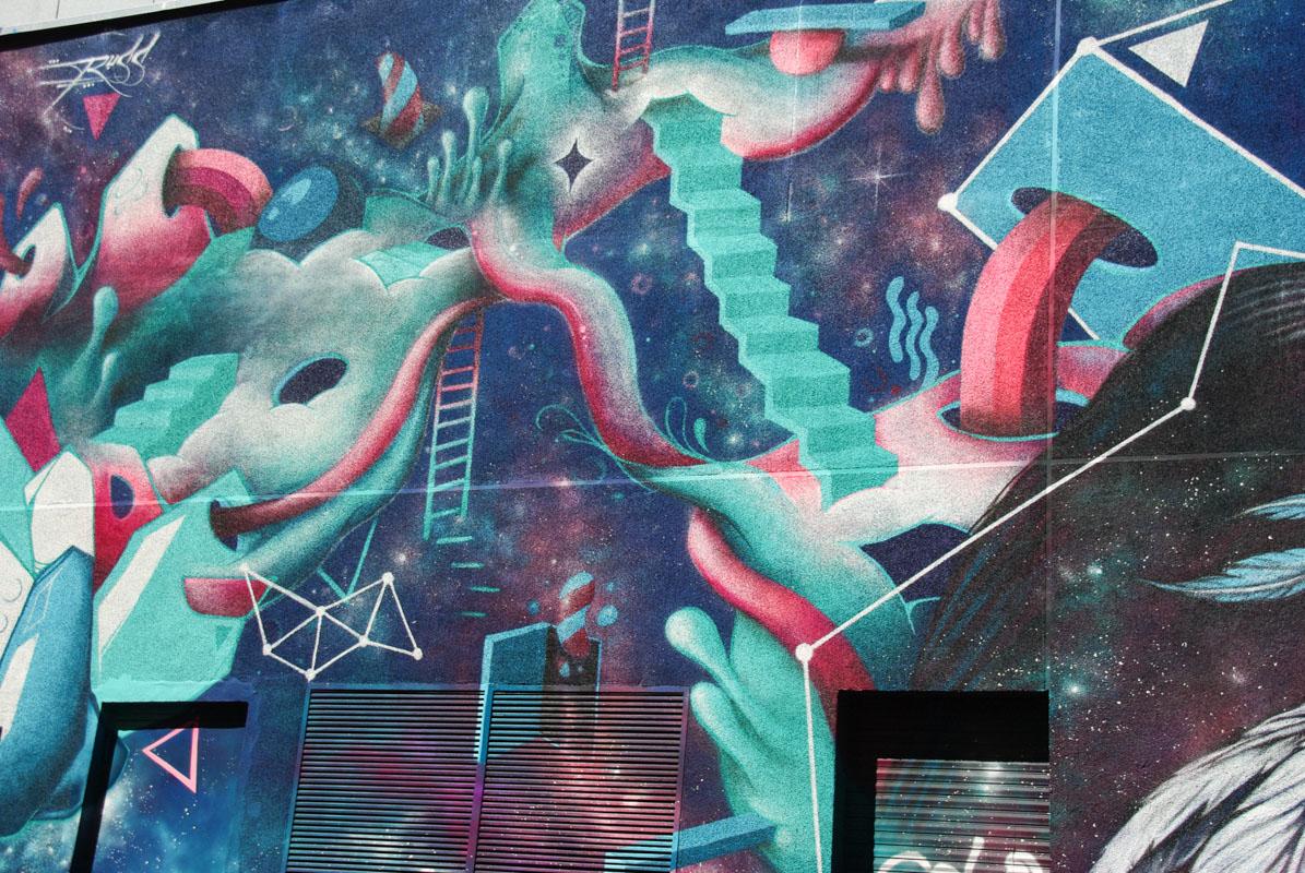 street art - rue des Maronites - Paris