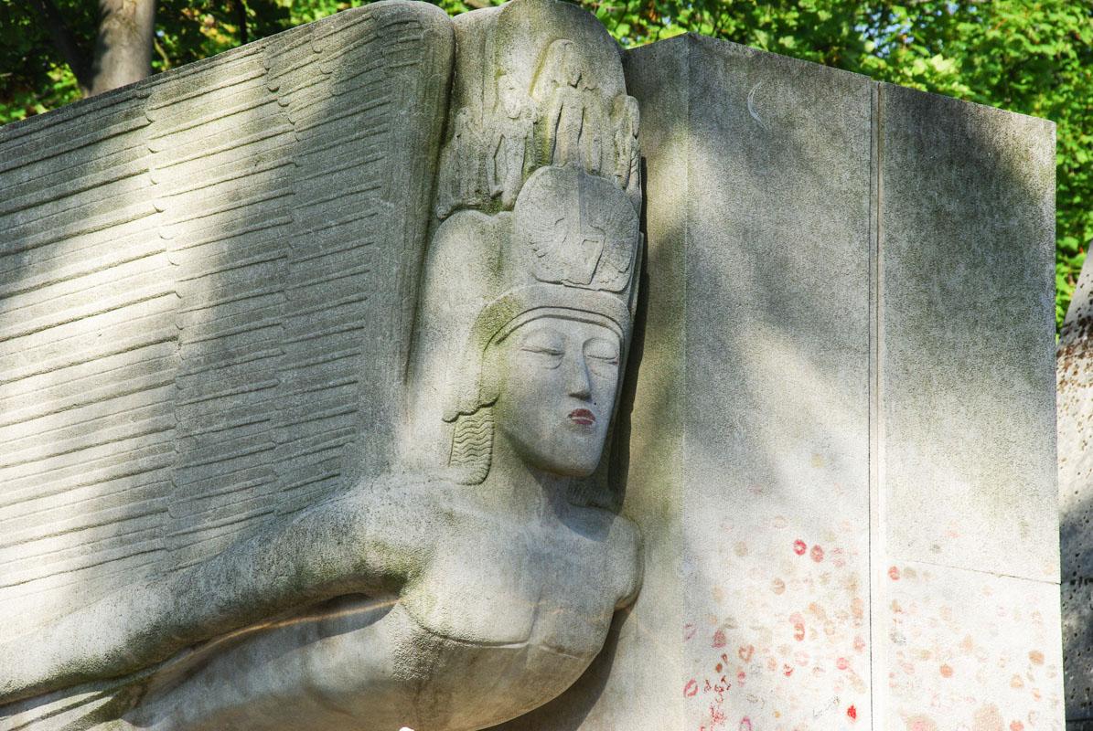 Tombe d'Oscar Wilde - Père Lachaise - Paris