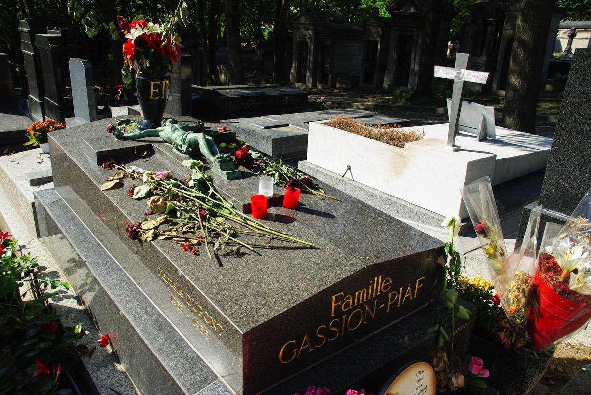 TombeEdith Piaf - Père Lachaise - Paris