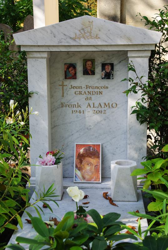 Tombe Franck Alamo - Père Lachaise - Paris