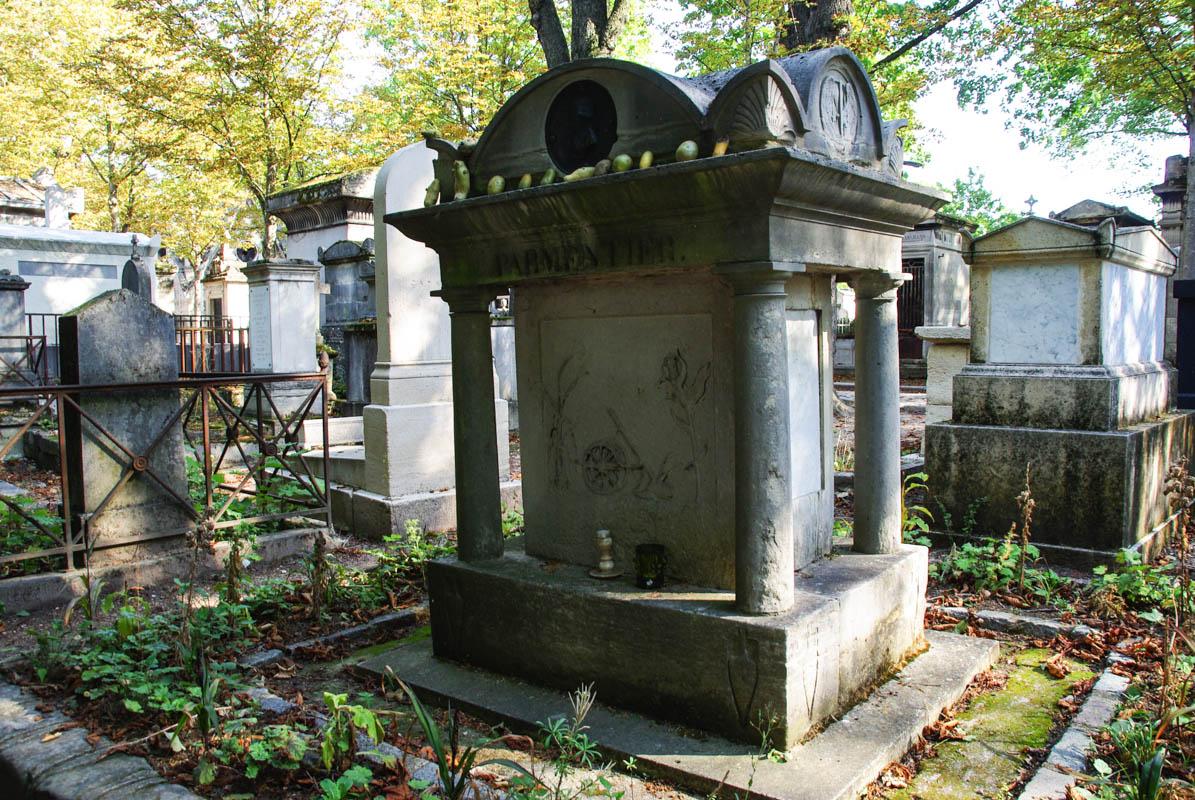 Tombe Parmentier - Père Lachaise - Paris