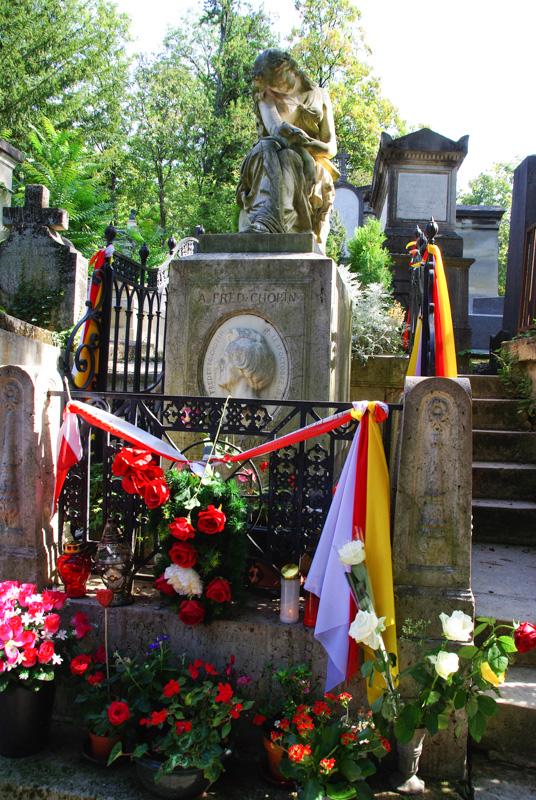 tombe de Chopin - Père Lachaise - Paris