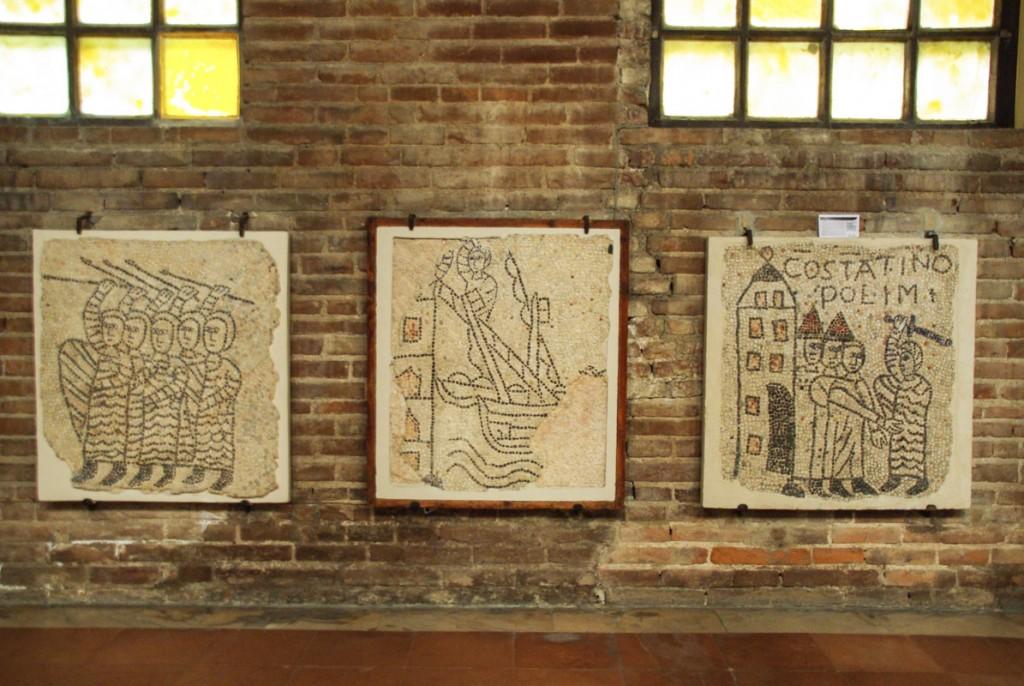 mosaiques de la basilique saint jean l'évangeliste