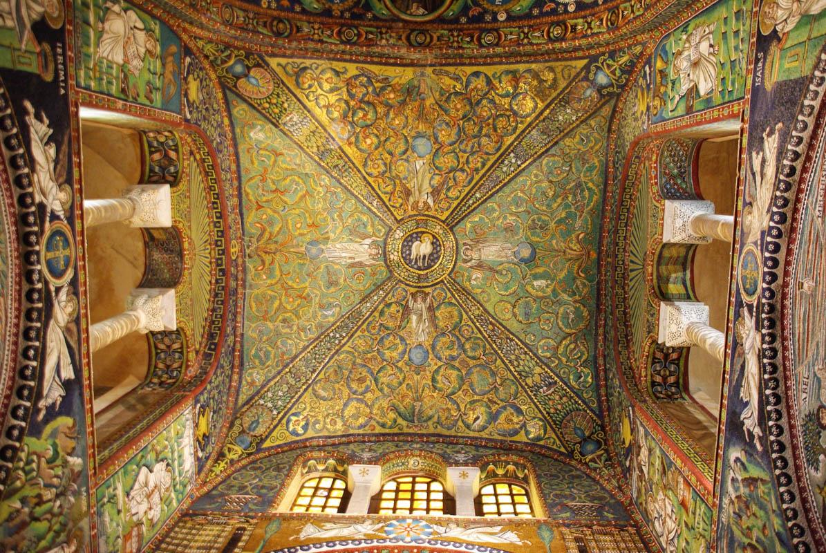 Mosaique de la Basilique San Vital - Ravenne