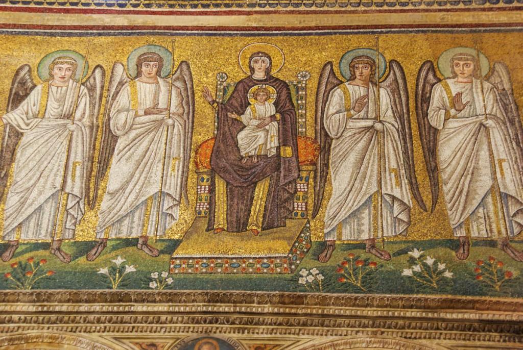 mosaique Basilique Saint Apollinare Nuovo - Ravenne