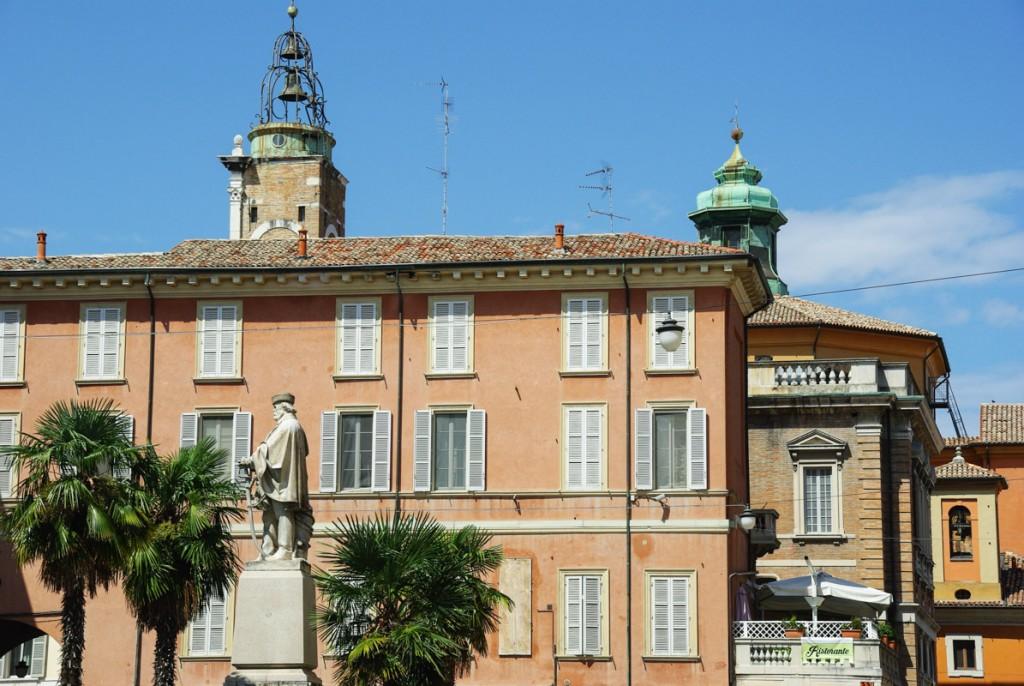 Dans les rues de Ravenne