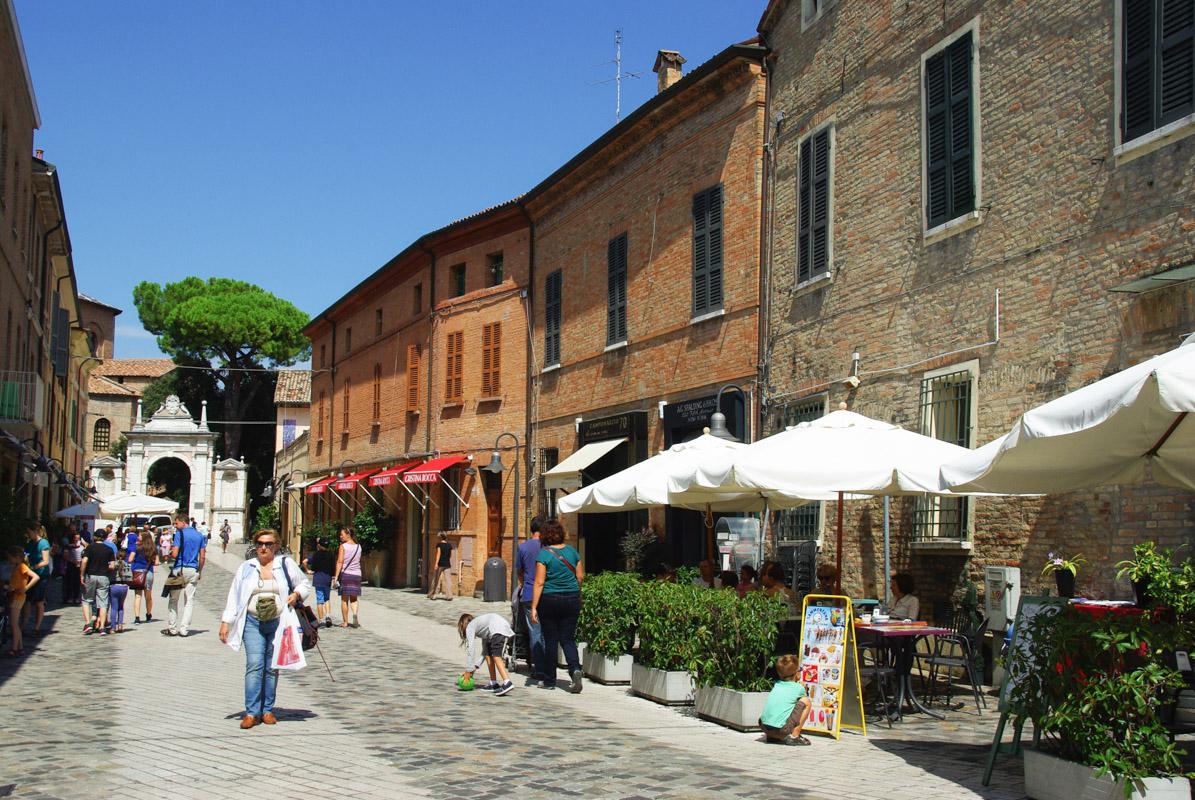 Via Guliano Argentario - Ravenne