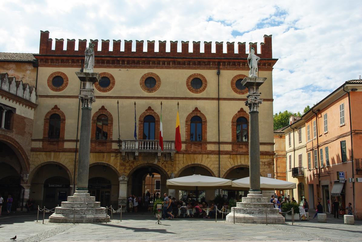 piazza del Popolo - Ravenne