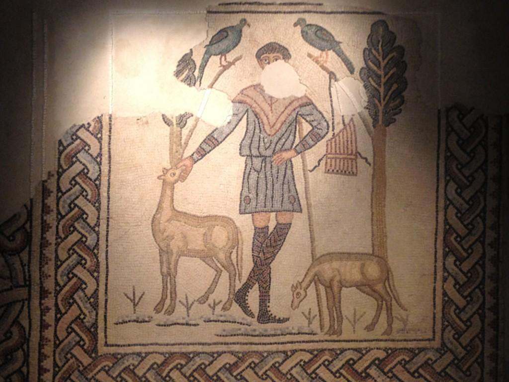 Mosaique le bon Pasteur - Ravenne
