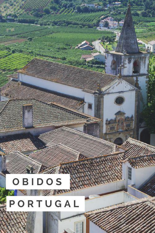 Obidos un village de carte postale au Portugall