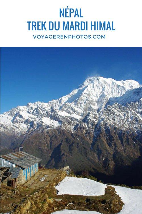 Le trek du Mardi Himal au Népal : mon récit jour par jour