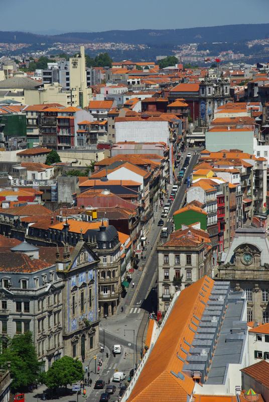 Rua dos Clerigos - Porto