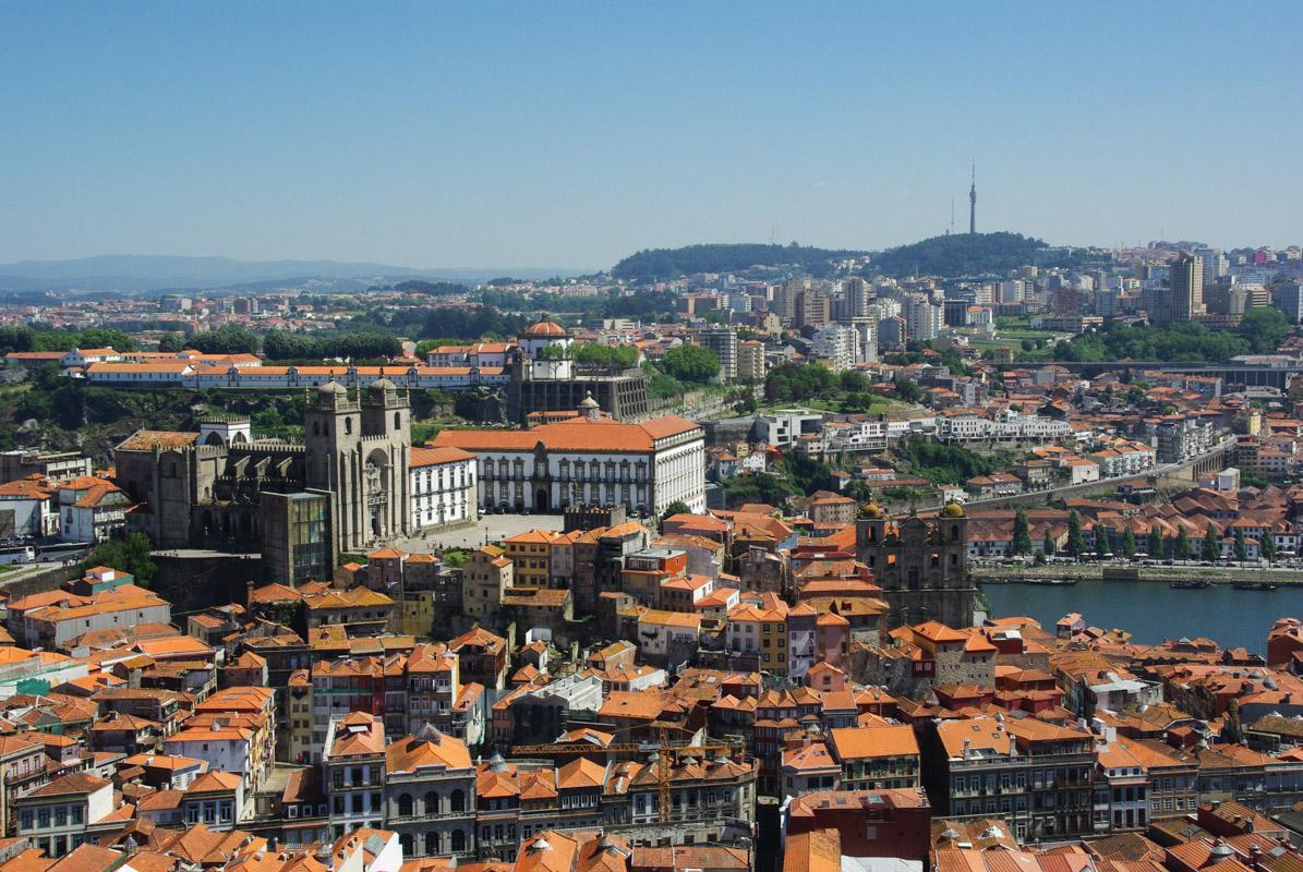 Panorama sur Porto depuis la Torre Dos clerigos