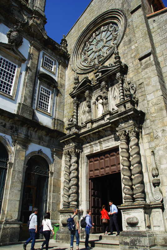 Facade de l'église Saint François - Porto