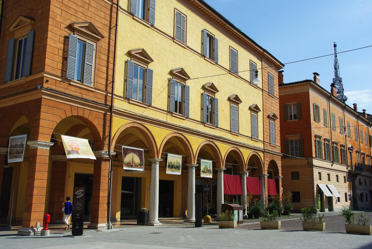 Rues de Modene - Italie