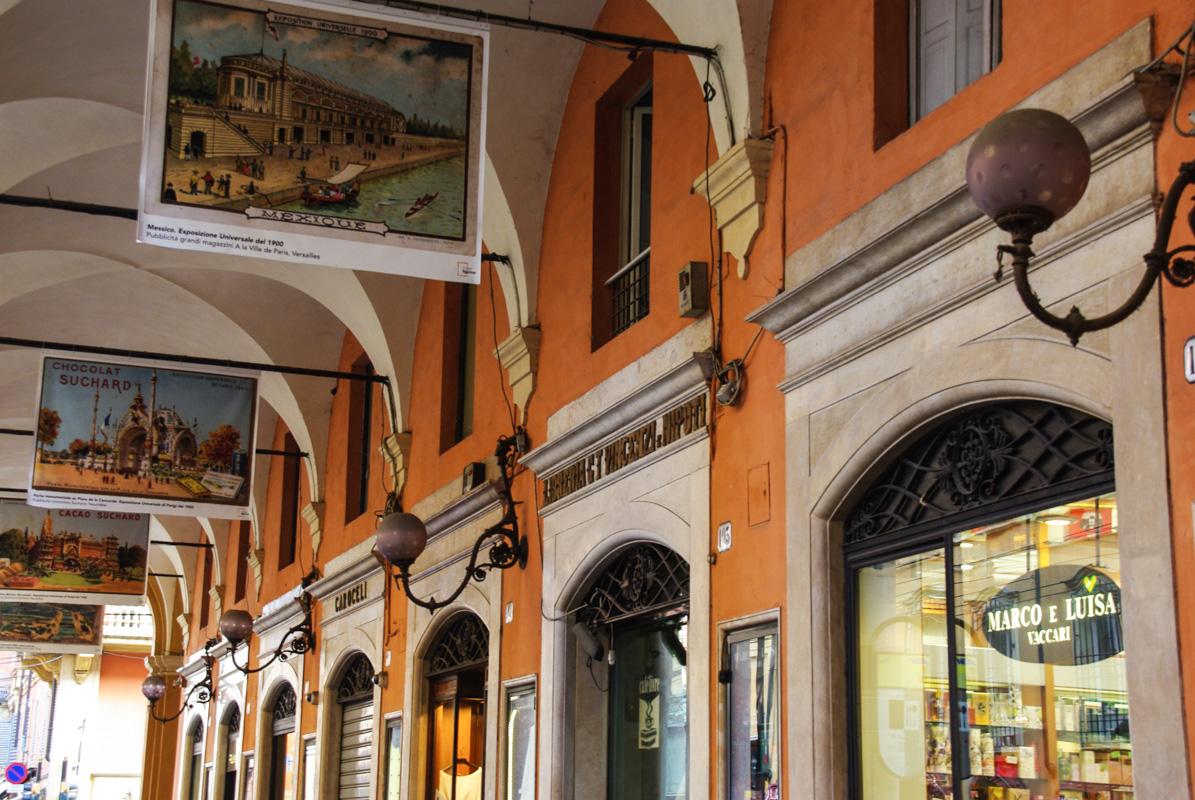 Arcades de la Via Emilia Centro - Modène - Italie