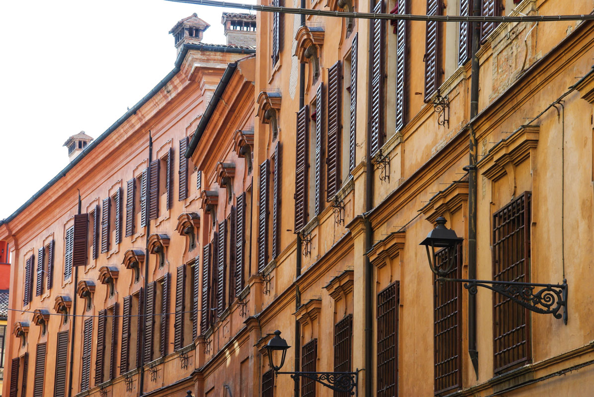Façades de Modene - Italie