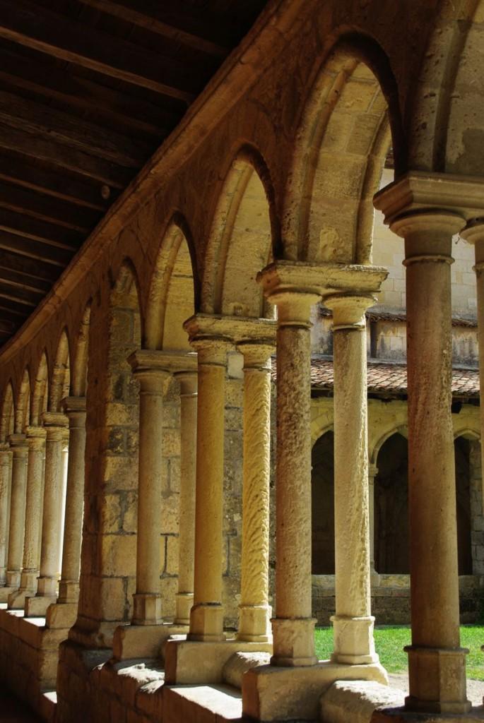 cloitre de l'église collégiale - Saint-Emilion