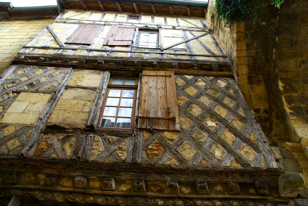 Maison à pan de bois - Saint-Emilion