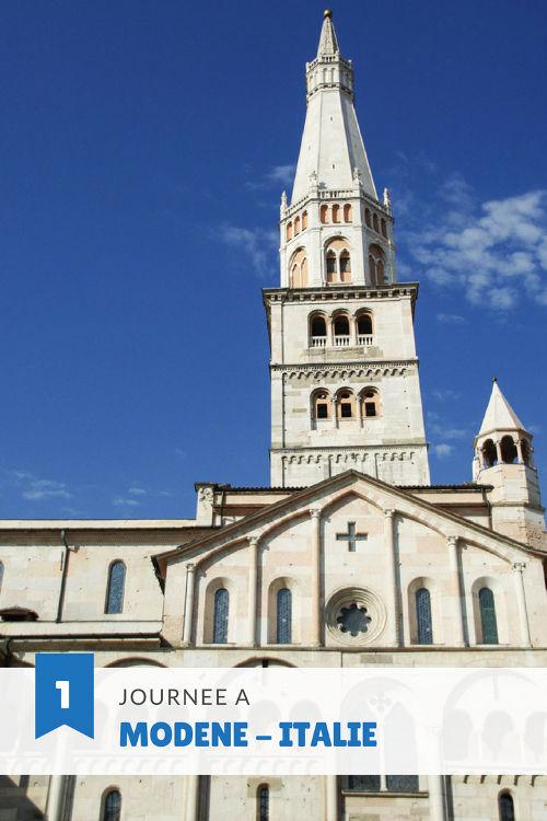 Visite de Modene en un apres midi #UNESCO #italie