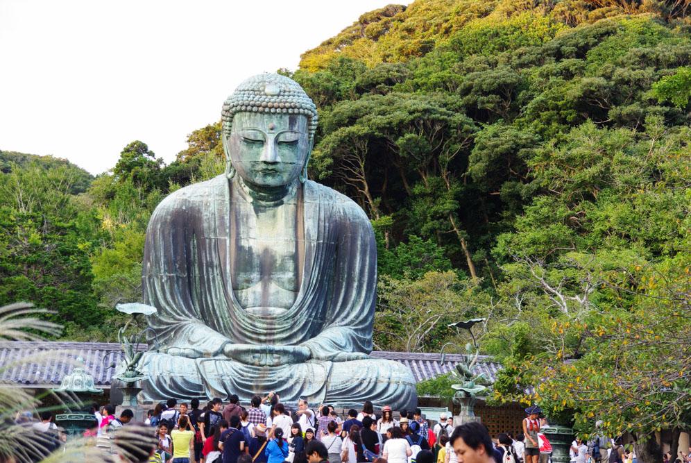 Grand Bouddha Daibutsu - Kamakura - Japon