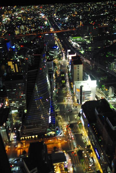 Vue sur Nagoya depuis la sky promenade - Japon