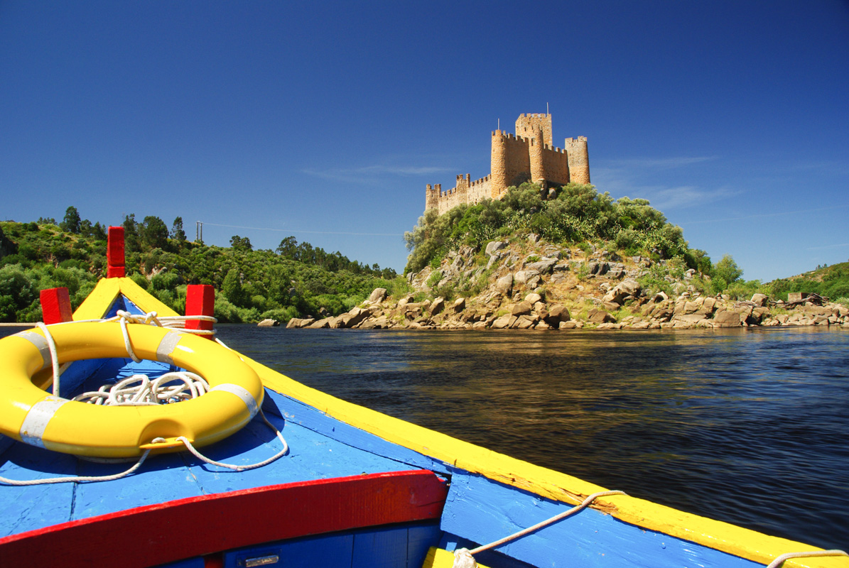 L'Almourol, un château sur le Tage