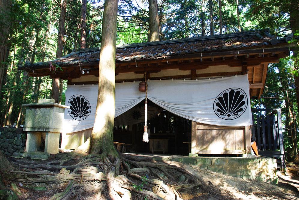 temple dans la montagne de Kurama - Japon
