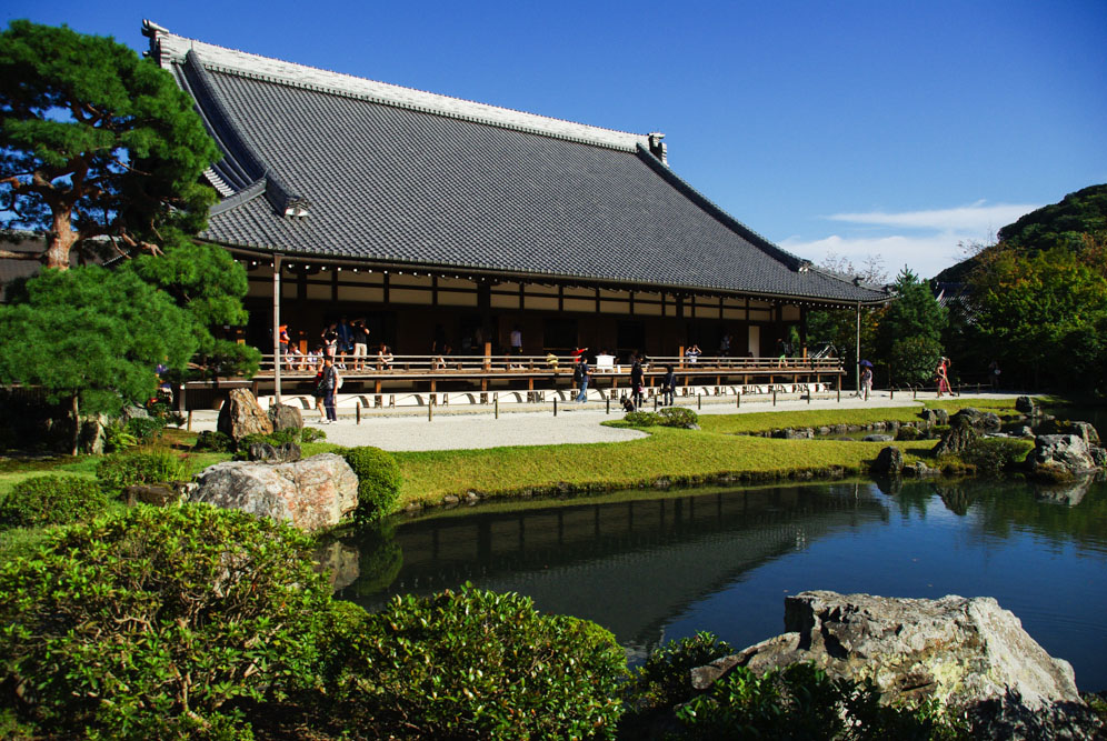 Temple tenryu ji - Arashiyama - Kyoto - Japon
