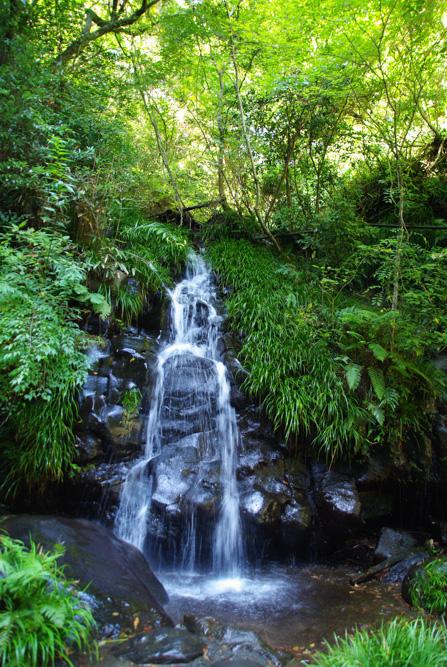Une des 7 cascades de Nana Daru
