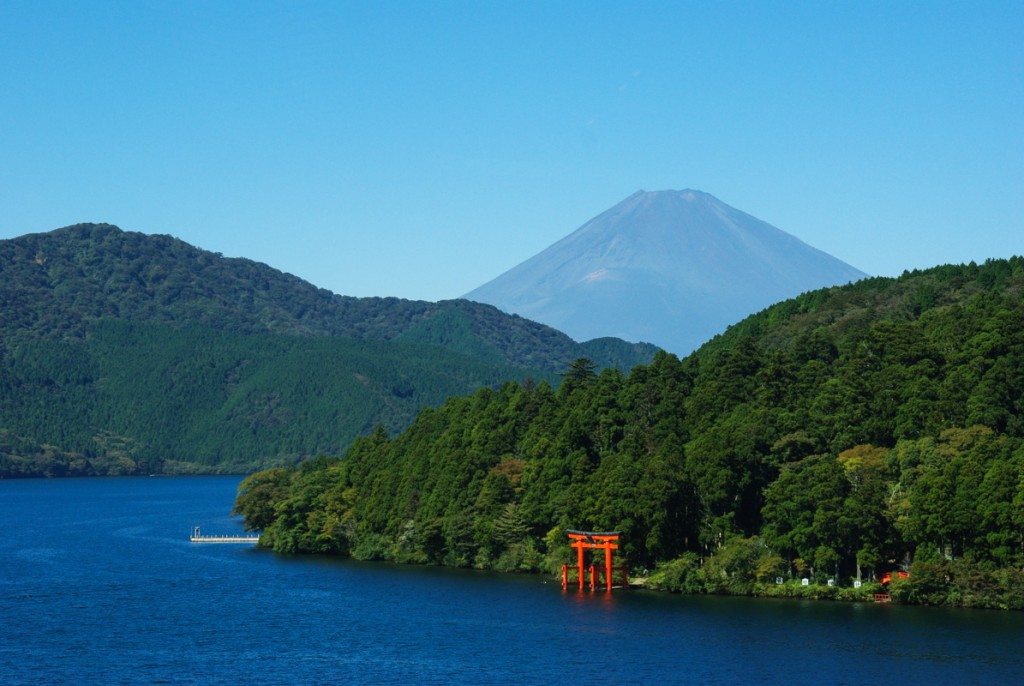 Lac Ashinoko - Hakone - Japon