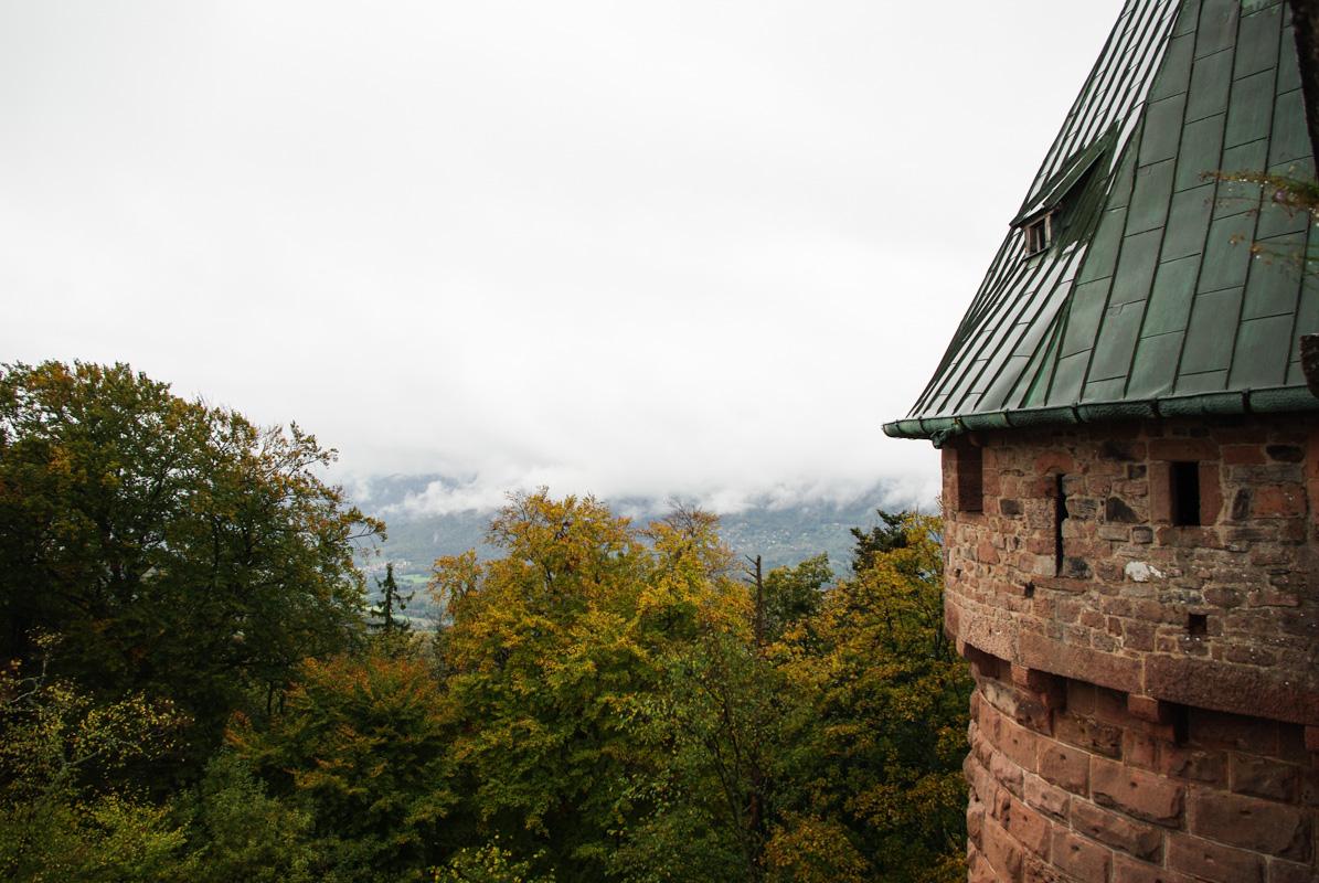 Tourelle - château du Haut Koenigsbourg