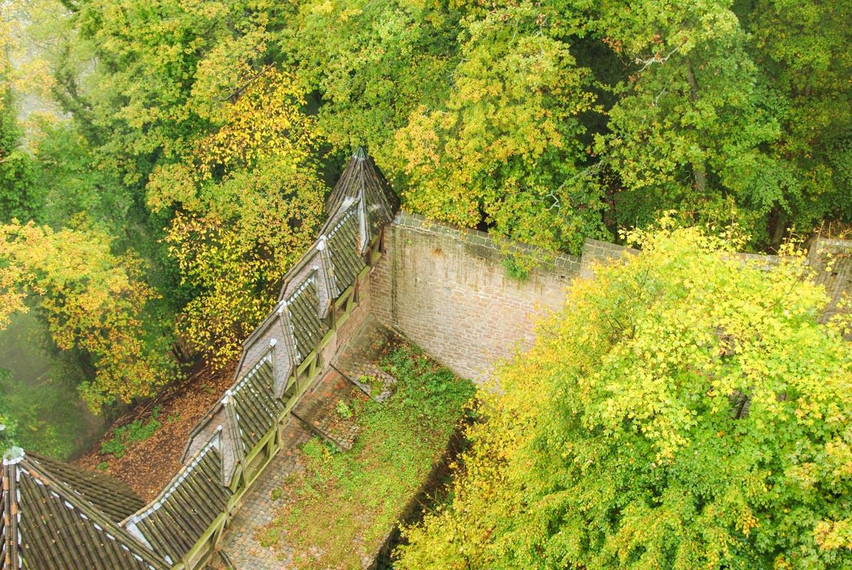 Remparts - château du Haut Koenigsbourg