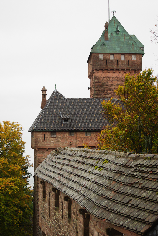 Donjon - château du Haut Koenigsbourg