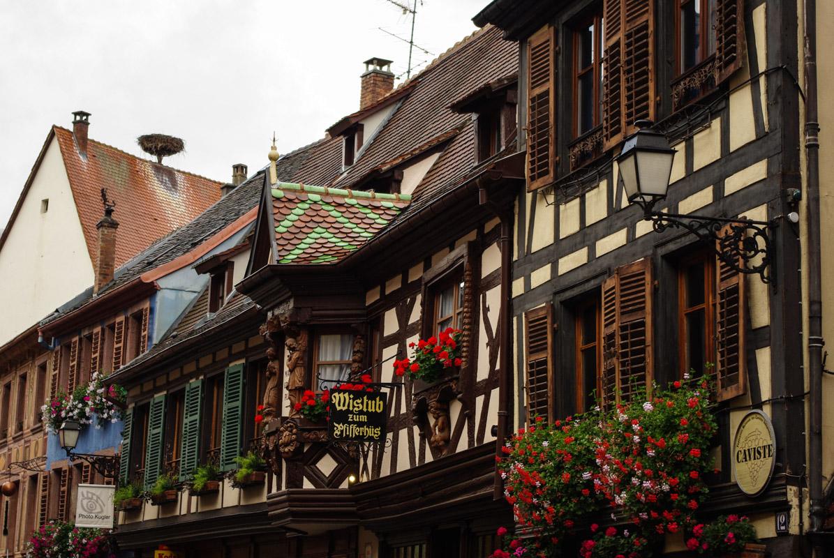 Les maisons à colombages de Kaysersberg en Alsace