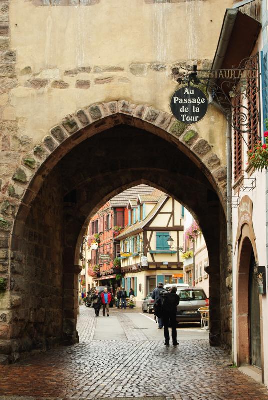 passage de la tour - Kaysersberg - Alsace