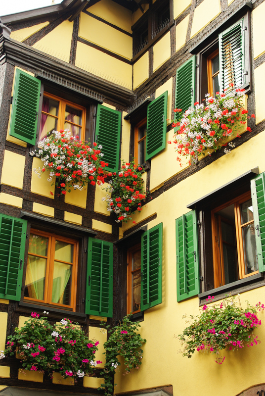 Facade à colombages - Kaysersberg
