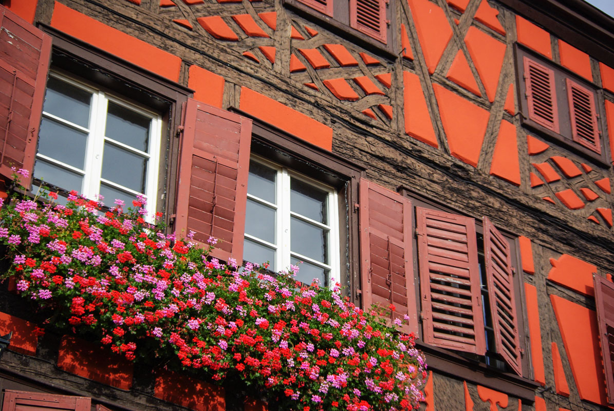 Facade à colombages -Kaysersberg