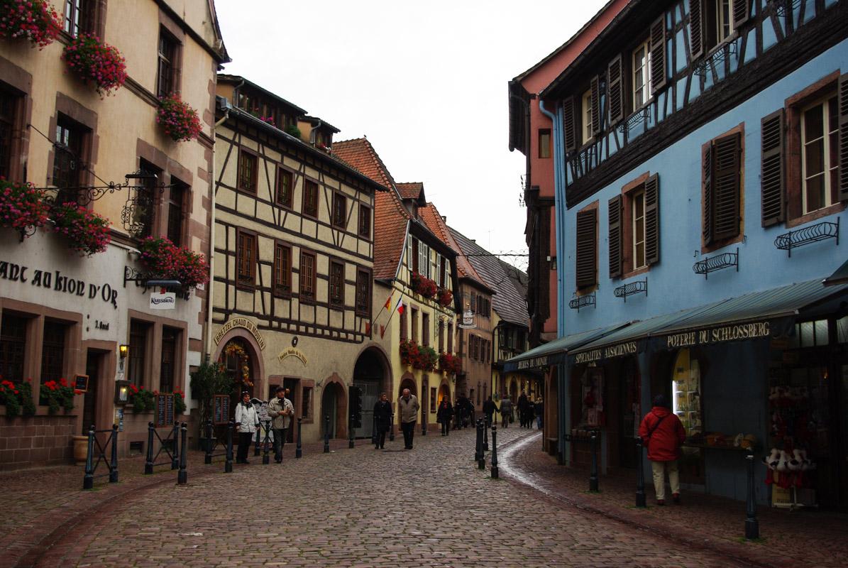 une des rues principales de Kaysersberg