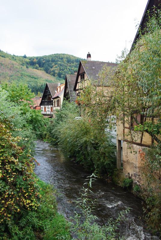 Le long de la Weiss - Kaysersberg