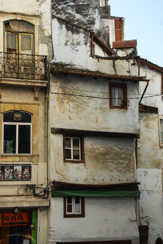 dans la vieille ville de Coimbra