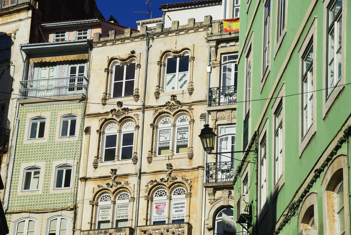 façades - coimbra