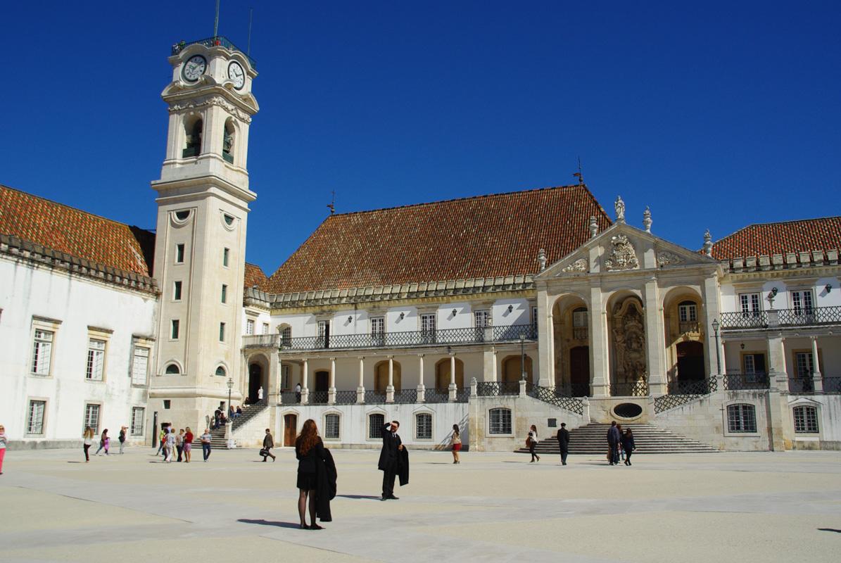 Coimbra, la plus vieille université du Portugal