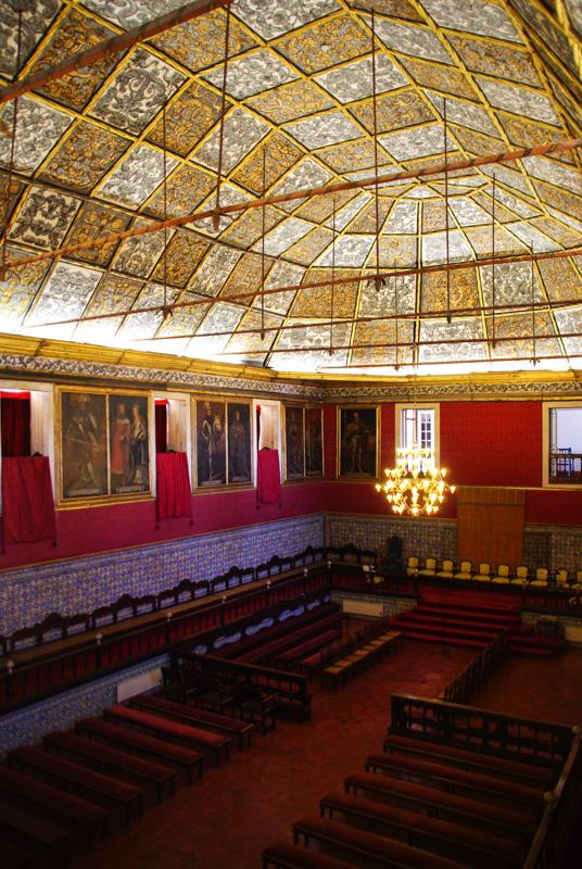 Grande salle des actes - université de Coimbra