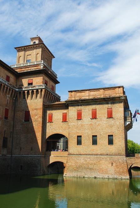 Château d'Estense - Ferrare
